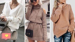 Модные джемпера в 2019 2020 женские