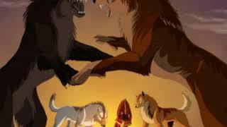 Anime Wolves-Pretty Girl
