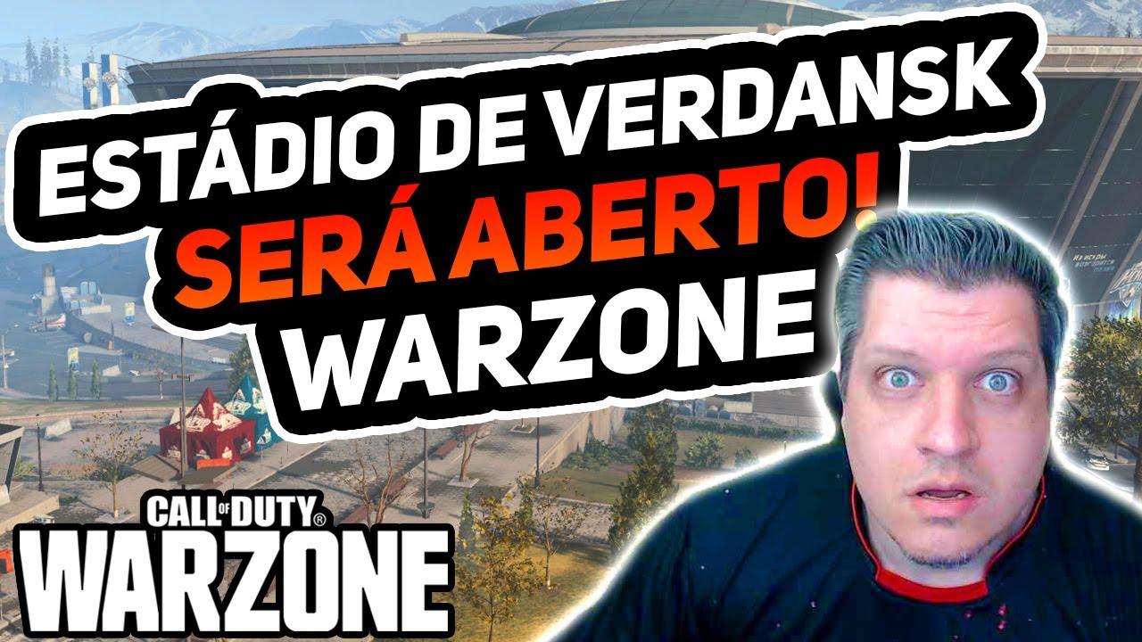 O ESTÁDIO DE VERDANSK SERÁ ABERTO | COD WARZONE