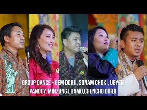 Group Dance by ||Five Bhutanese Renown Artist of Bhutan || K5 Birthday || New York || HD