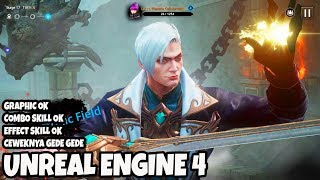 WAHH GILE UNREAL ENGINE LAGI! GAME RPG ENGLISH ETERNAL RHAPSODY gameplay android