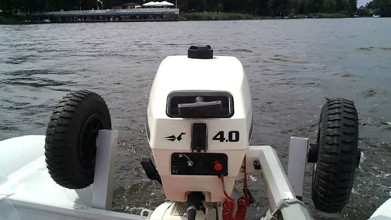 Außenbordmotoren Außenborder Johnsen Sea Horse 4 PS 2-Takter