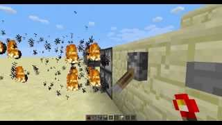 How to build the world's fastest machine gun in Minecraft with different firing modes! [1.6]