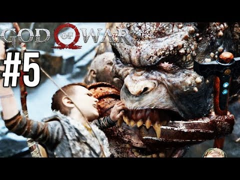 GORYL CZY TROLL!? - God of War 4 #5