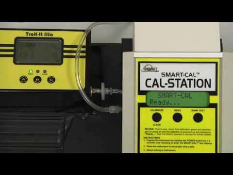 Trak-It IIIa Calibration Using The SMART-CAL Calibration Station