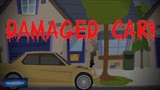 Damaged Car - Scary Story (Animated in Hindi)