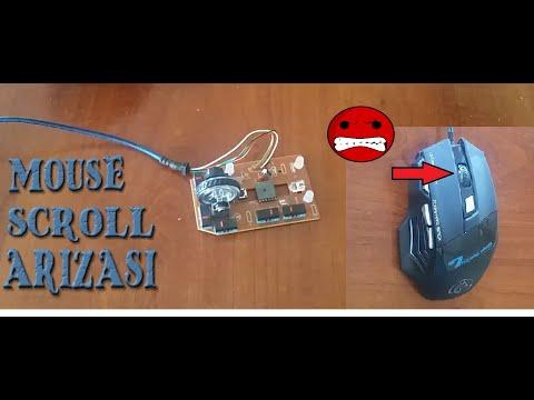 Mouse Scroll (Tekerlek) Sorunu ve Çözümü