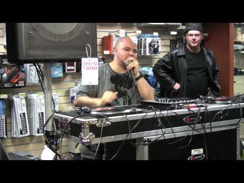 DJ Johnny Juice Demos M-Audio Torq Xponent DJ Mixer at J&R