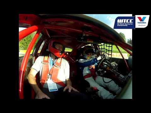 Valvoline FIA WTCC VIP Taxi Lap Salzburg Jens Sorensen
