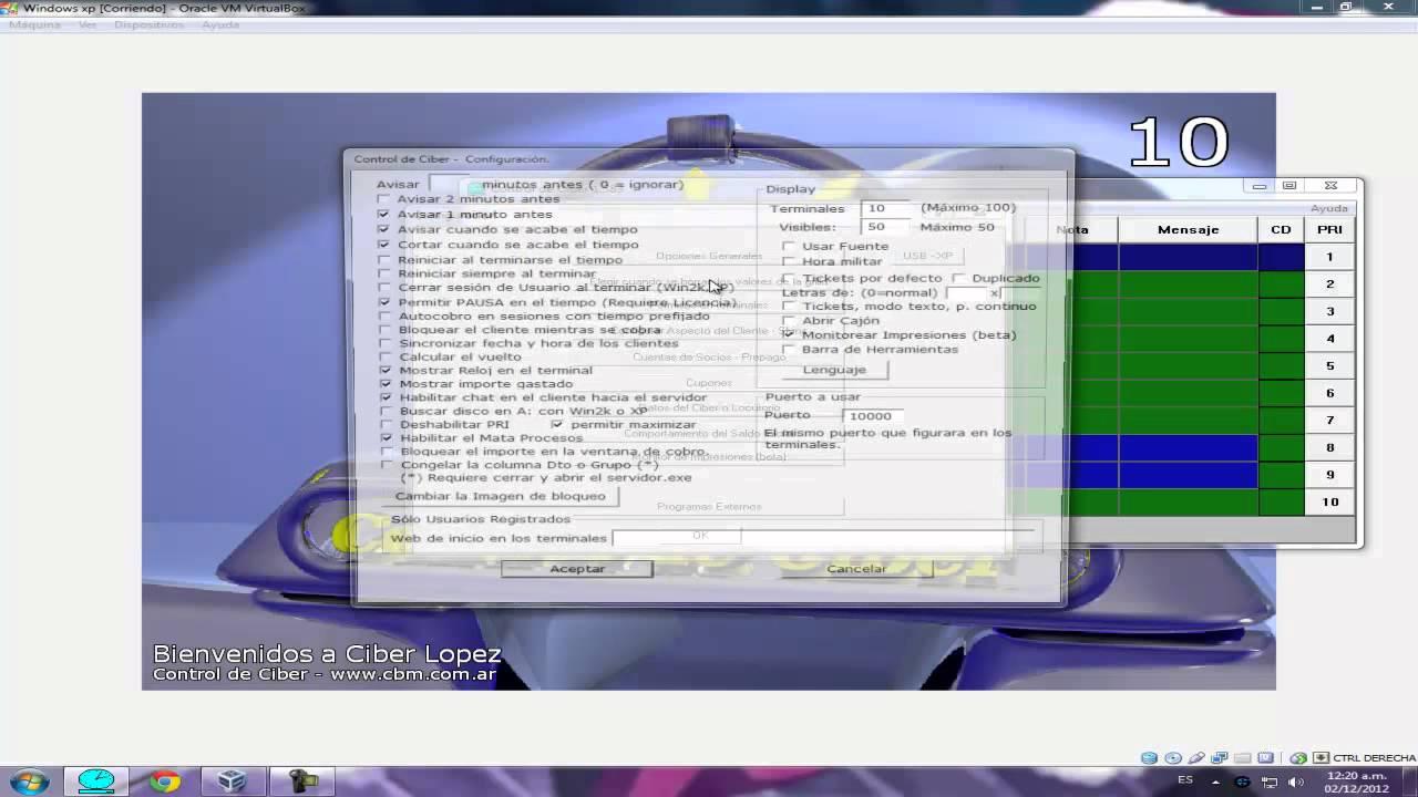 Tutorial] como configurar control ciber correctamente! Youtube.