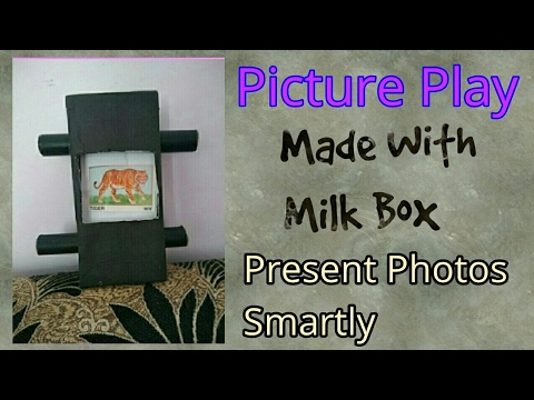 Picture Play | To Present Photos To Others | Amazing Project Made With Milk Box!