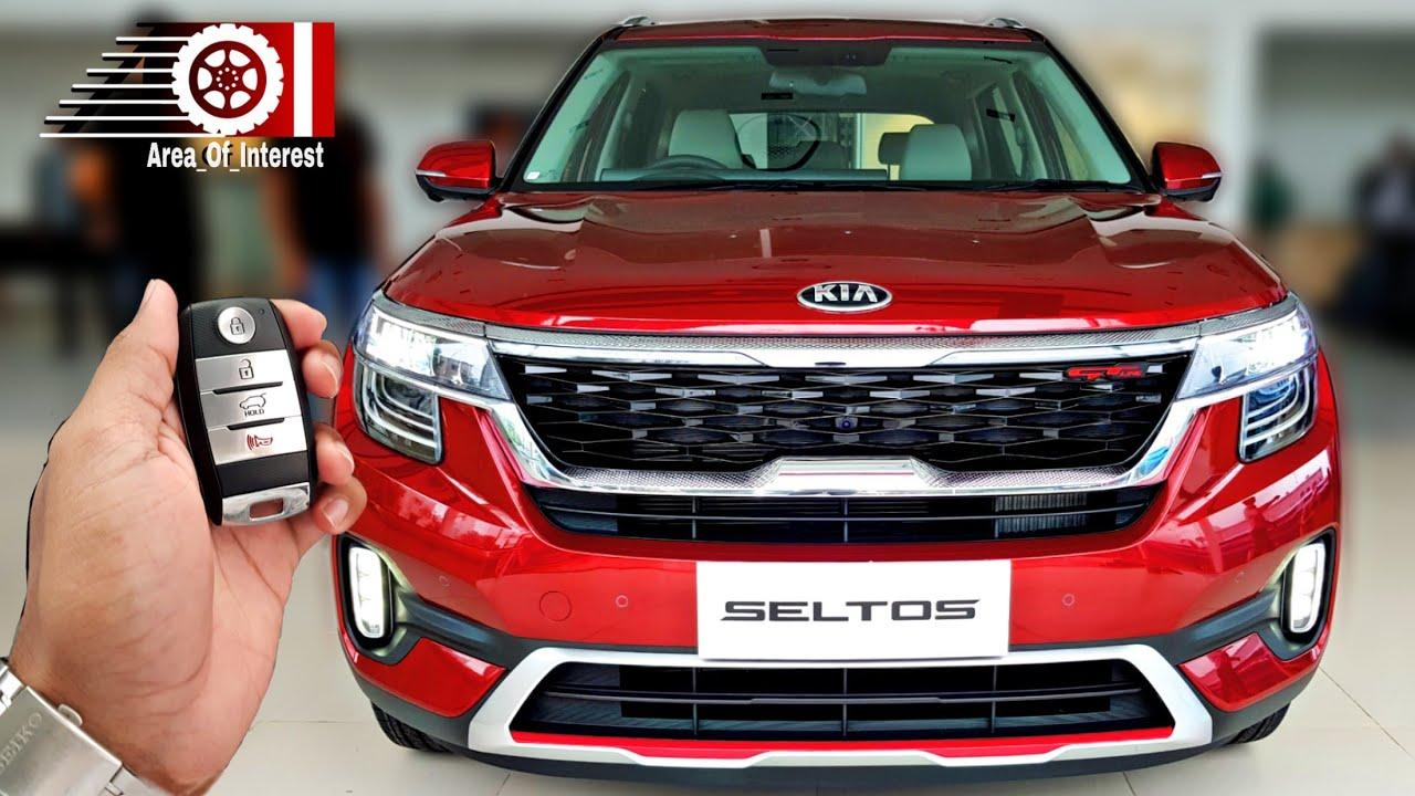 New Kia Seltos India Price Mileage Interior Sunroof Features Specs Exclusive Review Youtube