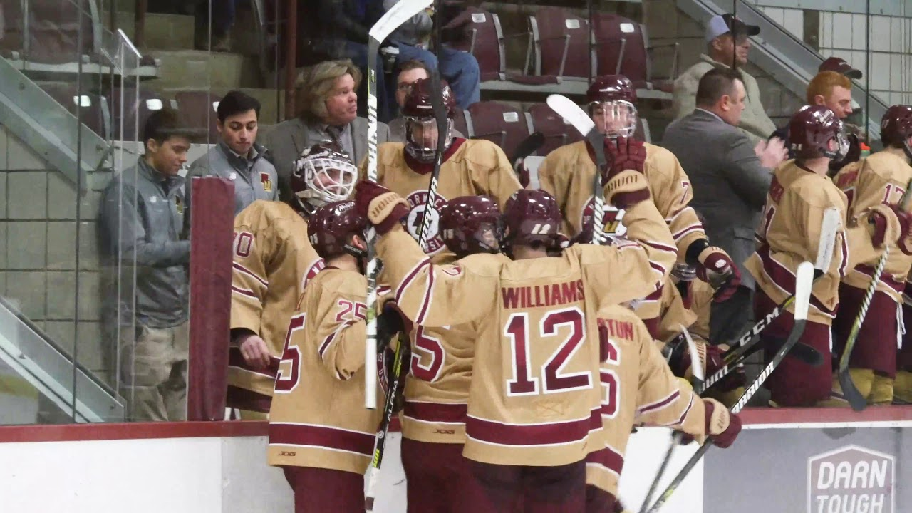 Norwich Men's Ice Hockey drops Plattsburgh State Cardinals, 5-1 Video Recap Jan 8, 2019