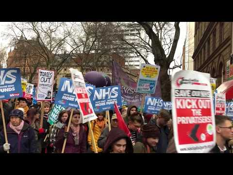 Emergency Demonstration - NHS in Crisis: Fix It Now! 03.02.2018