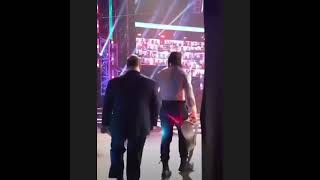 Roman Reigns entering in WWE Thunderdome