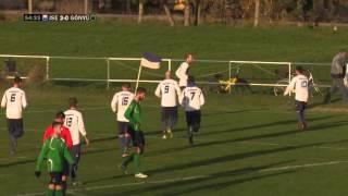 Jánossomorja - Gönyű labdarúgó mérkőzés összefoglalója - 2015.11.22.