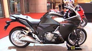 2016 honda vfr1200 f dct abs walkaround 2015 salon de la moto paris