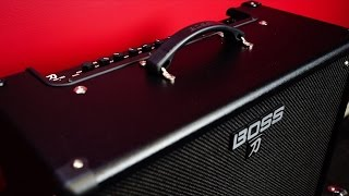 BOSS KATANA 100 - The world's first BOSS Amplifier range