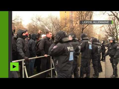 Leipzig : l'extrême droite manifeste sous le slogan «Préservez la patrie»