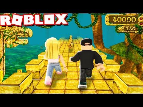 TEMPLE RUN W ROBLOX! KTO DOBIEGNIE PIERWSZY?! | Vito vs Bella