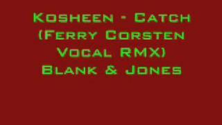 Скачать Kosheen Catch Ferry Corsten Vocal RMX Blank Jones
