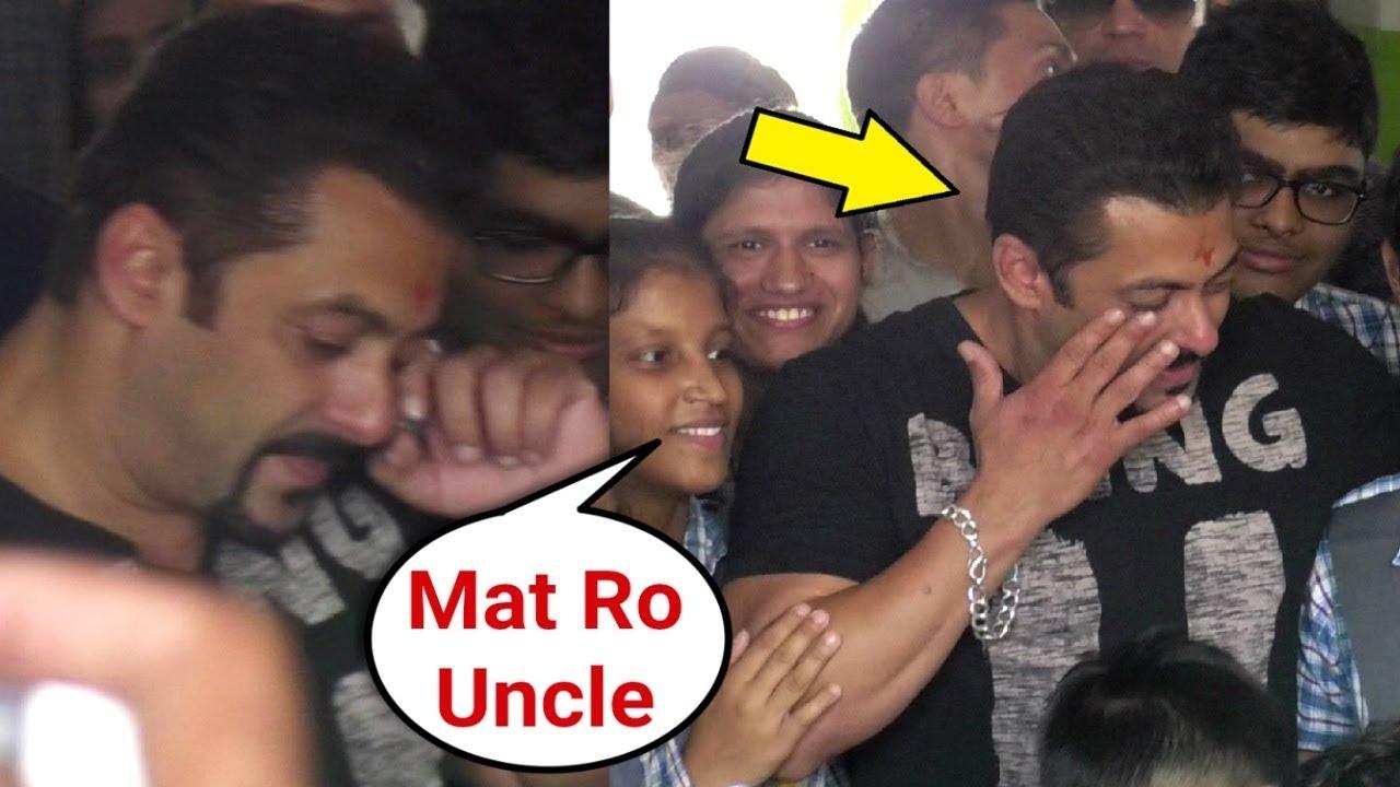 Salman Khan Gets EMOTIONAL After Meeting Special Kids In Jaipur