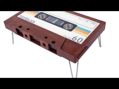 Cassette Tape Coffee Table  —  Kickstarter