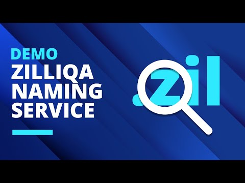 Zilliqa Naming Service Demo