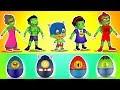 Baby Hulk family Transform to Superheroes |Hulk Cartoon Video |Superheroes Eggs