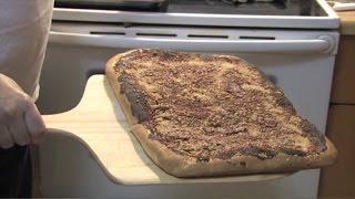 In Peter's Kitchen - Episode 6 - Utica Tomato Pie Using Fusco Imports' Peter's 3 Flour Pizza Blend