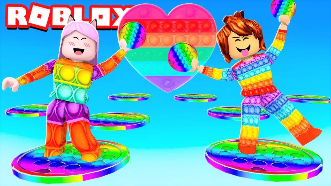 Roblox - VIRAMOS POP IT (Escape Pop it Fidget Toy Obby)