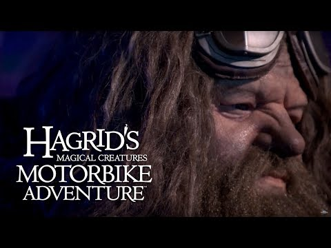 Life-sized Hagrid comes to life in the Wizarding World of Harry Potter