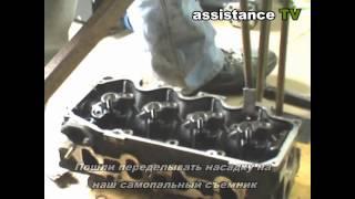 Как снять клапана или как вытащить сухарики