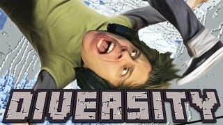 CAIDA PELIGROSAMENTE PELIGROSA | Minecraft Diversity 2