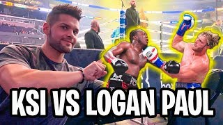 KSI VS LOGAN PAUL 2 - IO C'ERO (Rematch a Los Angeles)