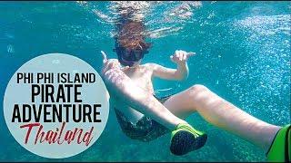 Phi Phi Island Pirate Ship Adventure | Koh Phi Phi, Thailand | Maya Bay