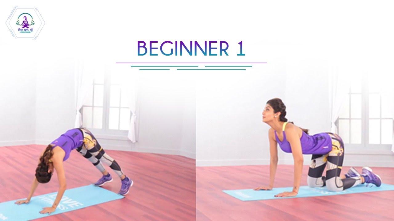 <div>Beginner 1 Routine | Shilpa Shetty Kundra | Workout | Health & Fitness</div>