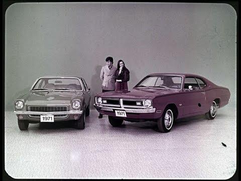 1971 Dodge Demon Vs  Chevrolet Vega Dealer Promo Film