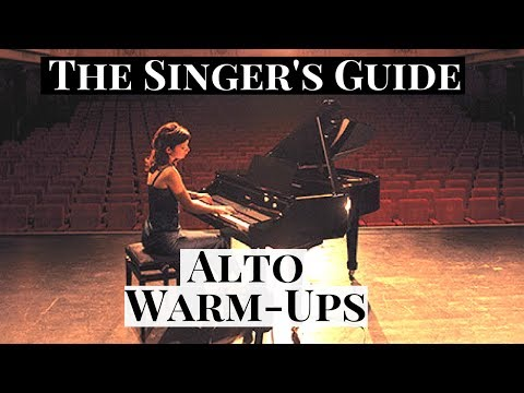 🎶 The Singer's Guide | Alto Vocal Warm-Up Exercises 🎶