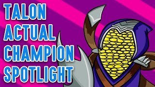 Talon ACTUAL Champion Spotlight