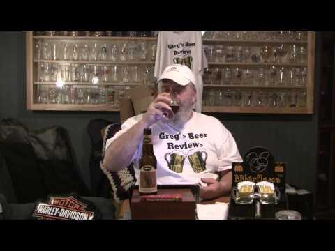 Beer Review # 1007 Dogfish Head Brewing Burton Baton