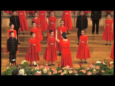 The Lord Bless You and Keep You, John Rutter - The Resonanz Children Choir