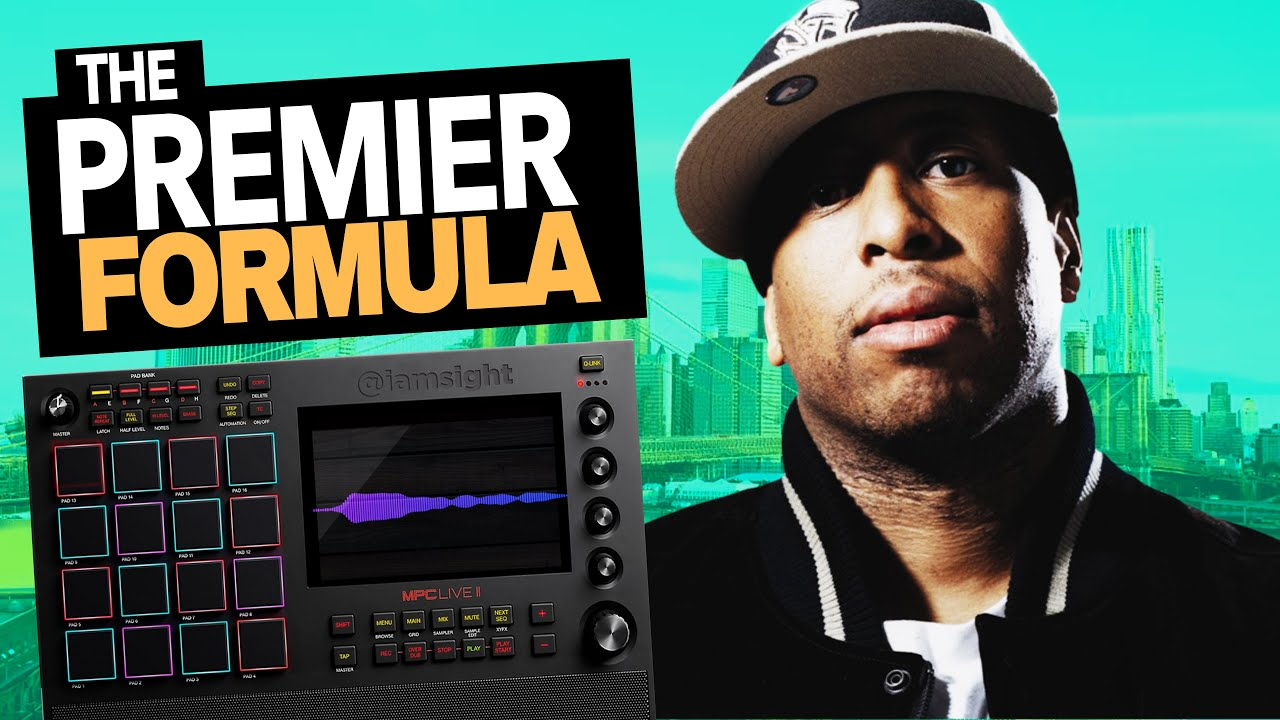 How to Make Boom Bap Beats like DJ Premier on the MPC One and MPC Live 2