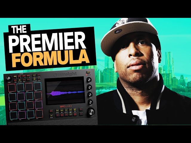 How to Make Boom Bap Beats like DJ Premier on the MPC