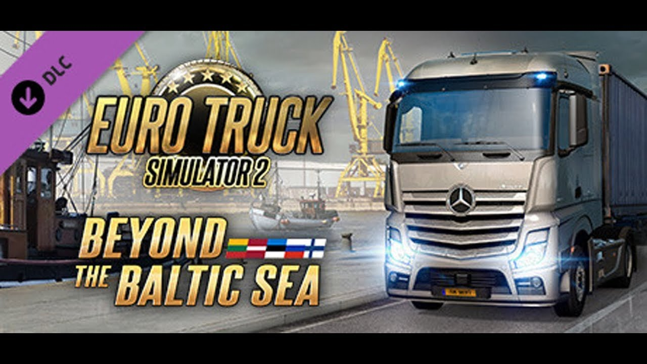 euro truck simulator 2 official teaser beyond the baltic. Black Bedroom Furniture Sets. Home Design Ideas