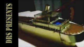 Making a ship model using metal sheets at home