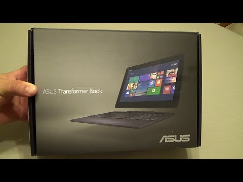 Asus Transformer Book T100 Unboxing & Hands On