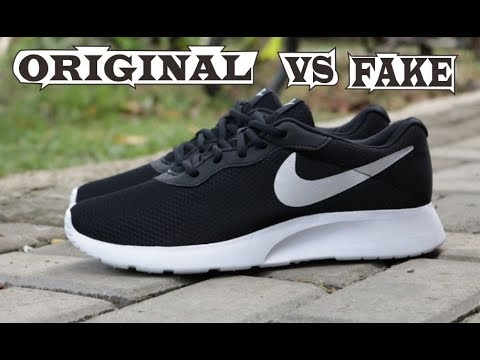 cac6bcac1ff Nike Tanjun Original   Fake - YouTube