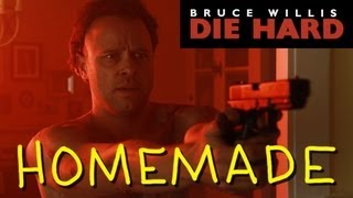 Die Hard - Death of Hans Gruber - Homemade