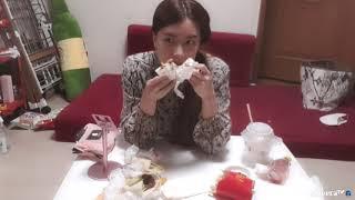맥도날드 더블불고기 비프스낵랩 상하이치킨랩 먹방